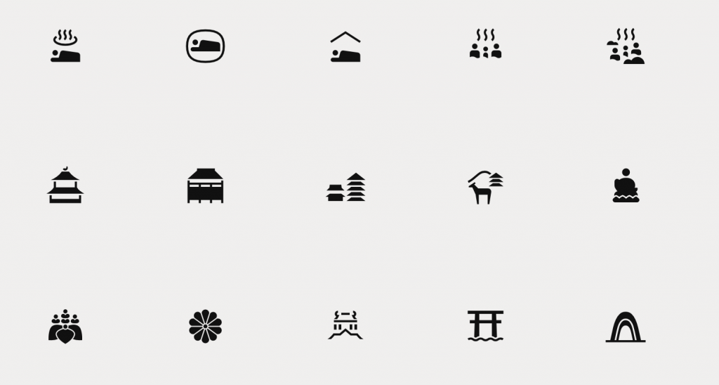 Japanese pictograms