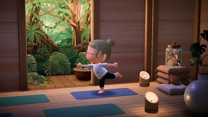 acnh yoga studio