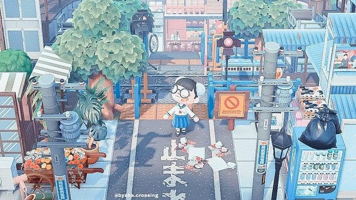 animal crossing anime village