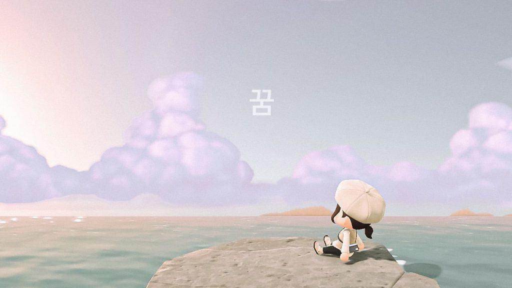 acnh korean island