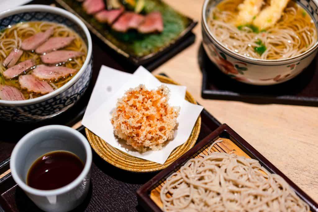 Japan plane food