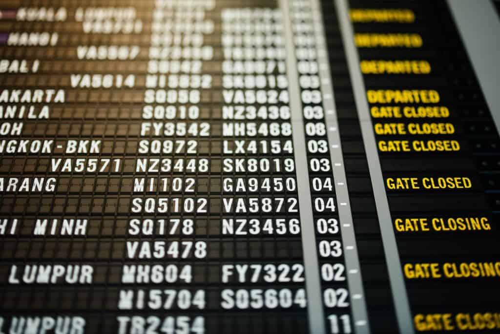 cancelled flights Japan