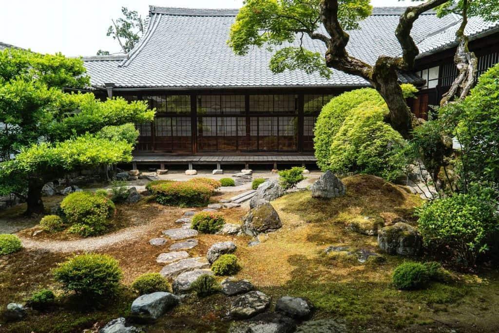 Japanese tempe garden