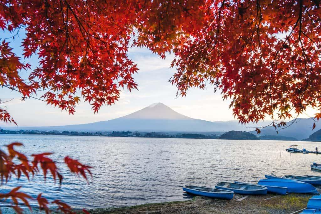 Lake Kawaguchi, Fuji.